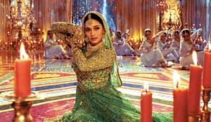 Madhuri Dixit: On me who has put this green colour?