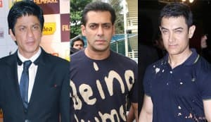 Shahrukh Khan, Salman Khan and Aamir together in a film?