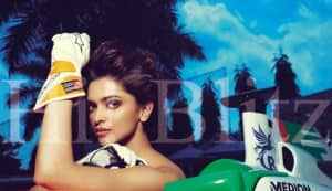 Deepika Padukone on the cover of Hi! Blitz
