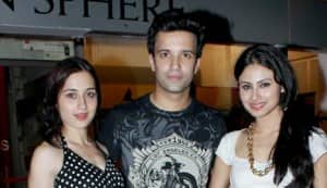 Sanjeeda Sheikh, Aamir Ali, Jackie Shroff and Mouni Roy spotted at Escobar