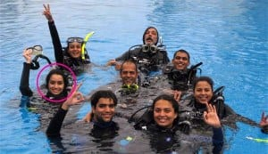 In Focus: Shraddha Kapoor goes snorkeling!