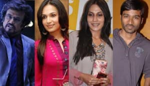 Rajinikanth and Dhanush pitted against each other by Aishwarya and Soundarya