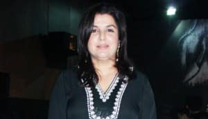 Farah Khan goes back to dancing!