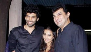 Vidya Balan catches the special premiere of brother-in-law Aditya Roy Kapur's Aashiqui 2