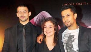 Arunoday Singh, Pooja Bhatt, Randeep Hooda, Dino Morea at the 'Jism 2' press conference