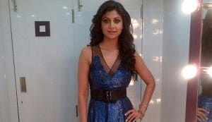 Shilpa Shetty looks gorgeous in a Rohit Gandhi and Rahul Khanna dress