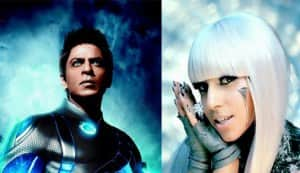Shahrukh Khan bonds with Lady Gaga, gets reinvented!