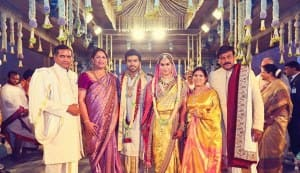 Ram Charan Teja-Upasana Kamineni wedding pics: Amitabh Bachchan, Rajinikanth, Sridevi, Shriya Saran bless the couple
