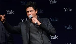 SHAHRUKH KHAN's speech at Yale: Don't be afraid of being afraid!