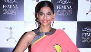 Does Sonam Kapoor look sexiest in a saree?