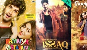 Raanjhanaa, Ramaiya Vastavaiya and Issaq new posters: Dhanush, Girish Kumar and Amy Dastur make their Bollywood debut!