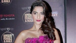 Sonam Kapoor wants do an out and out Indian dance number