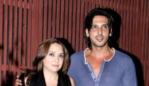 Zayed Khan with wife Mallika
