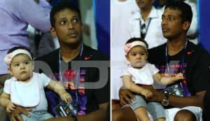 Lara Dutta and Mahesh Bhupathi show off their daughter Saira