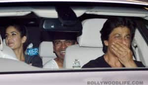 What were Shahrukh Khan and Katrina Kaif doing in the same car?