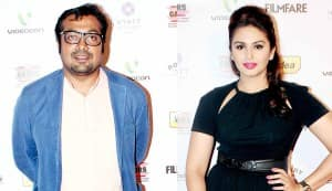 Anurag Kashyap and Huma Qureshi: What's going on?