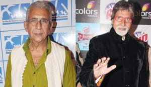 Will Naseeruddin Shah and Amitabh Bachchan come together on the big screen?