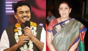 Smriti Irani files defamation suit against Congress MP Sanjay Nirupam