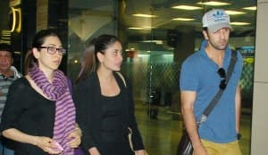 Did Ranbir Kapoor and Kareena Kapoor bond on their flight from Dubai?