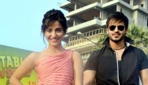 Neha Sharma and Vivek Oberoi spend Valentine's Day promoting Jayantabhai Ki Luv Story