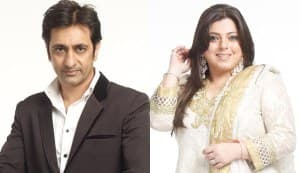 Bigg Boss 6: Rajev Paul gets romantic with Delnaaz Irani on their wedding anniversary