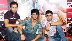 Will Sushant Singh Rajput, Amit Sadh and Raj Kumar Yadav be able to sustain their Kai Po Che success?