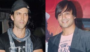 Hrithik Roshan and Vivek Oberoi bond over biceps