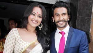 Ranveer Singh and Sonakshi Sinha launch the first look of Lootera