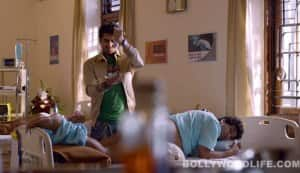 Nautanki Saala new song Dramebaaz: Ayushmann Khurrana massages Kunaal Roy Kapur's butt
