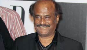 Rajinikanth plays host to a VIP guest from USA