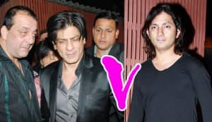 Shahrukh Khan denies punching Shirish Kunder, Shirish denies Sanjay's slap