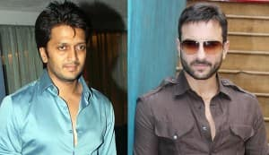 Saif Ali Khan and Riteish Deshmukh to team up with Sajid Khan for a comedy flick!