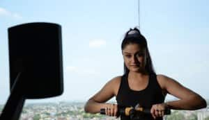 Sonia Agarwal dons four different looks in her next