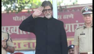 Amitabh Bachchan donates Rs 11 lakh to the police fund