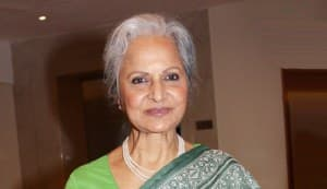Waheeda Rehman: I couldn't meet Dev one last time