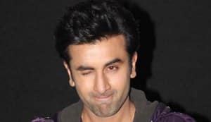 Who was Ranbir Kapoor kissing?