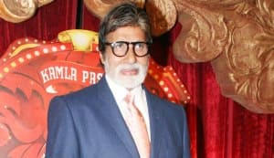 Amitabh Bachchan tells the media not to work too hard!