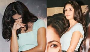 Why did Katrina Kaif blush?