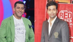 Why is Karan Johar cosying up to Salman Khan?