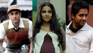 Filmfare Awards 2013 winners' list: Vidya Balan, Ranbir Kapoor and Ayushmann Khurrana bag top honours