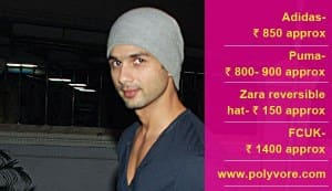 Want Shahid Kapoor's cool cap look?