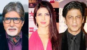 Happy New Year: Amitabh Bachchan, Shahrukh Khan, Priyanka Chopra tweet their wishes!