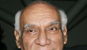 Yash Chopra to be honoured by Indian Film Festival of Melbourne as 'Father of Contemporary Indian Cinema'