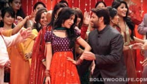 Jolly LLB song Daru peeke nachna: Arshad Warsi wants to be Salman Khan to Amrita Rao's Munni!