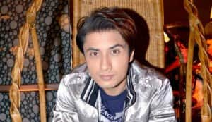 Siddharth, Ali Zafar, Taapsee Pannu and Divyendu Sharma at Chashme Baddoor music launch