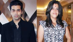 Karan Johar and Ekta Kapoor get together to produce a film