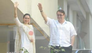 Karisma Kapoor – witness at Saif Ali Khan-Kareena Kapoor marriage!