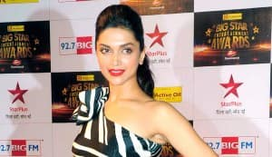 Deepika Padukone goes gaga over Rajinikanth