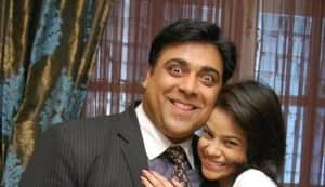 Ram Kapoor pulls a prank on Bade Acche Lagte Hain co-star Sumona Chakravarti: Watch video!