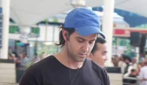 Hrithik Roshan and Sussanne spotted at the airport